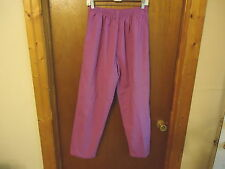 "Womens Carols Scrubs Size L ( 12-14 ) Scrub Pants With Draw String "" BEAUTIFUL P"