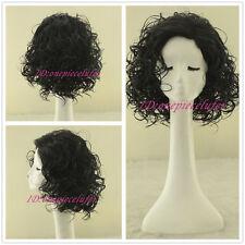 ladies Fashion wig Charm Women's short Black Curly Natural Hair Classic wigs