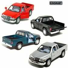 "4PC SET Brand New 5"" Kinsmart Dodge Ram 1500 Pickup Truck Diecast Model Toy 1:44"