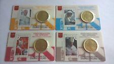 Vaticaan 2015 Coincard & Stamp Nr. 6, 7, 8 en 9
