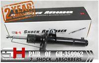 2 BRAND NEW FRONT SHOCK ABSORBERS FOR VW GOLF V, VI, PASSAT /GH-359962K