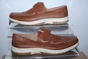 Avenue Mens Brown Touch Fasten Shoes Uk Size 9