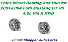 Front Wheel Bearing & Hub Assembly for 2001-2004 Ford Mustang GT V8 4.6 RWD-pair