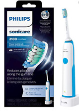 Philips Sonicare 2100 DailyClean Rechargeable 14 Day Battery Life Waterproof
