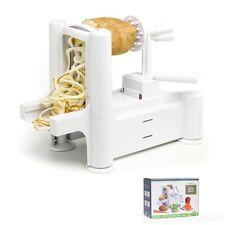 Professional Fruit Vegetable Spiral Slicer Peeler Cut Machine Zucchini Spaghetti