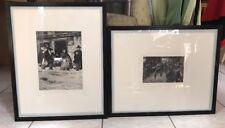 Rudolf Heinrich Zille Lot Of 2 Framed Prints Both 3/75 1976
