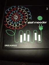 Stef Meeder Orgelkursus für jedermann 9 LP Box Hammondorgel Hammond