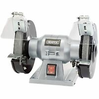 Draper 83420 150mm 150W 230V Bench Grinder / Grinding Machine LD150 & 2 WHEELS!