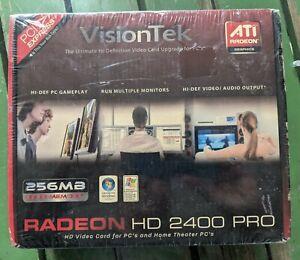 VisionTek ATI Radeon HD 2400PRO 256MB DDR2 AGP Video Card New Sealed