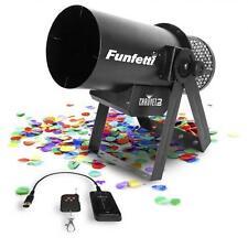Chauvet Funfetti Shot Confetti Cannon & 2 x Multicolour Refill Shots Package