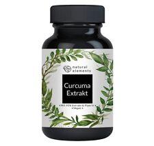 Natural elements - Curcuma Extrakt Kapseln - Vergleichssieger 2020 - 10.000mg