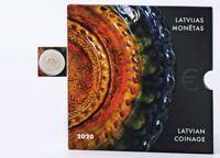 KMS Lettland 2020 in Originalblister 5,88 nominal Lettgallische Keramik