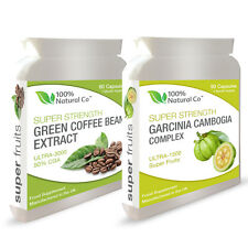 DOUBLE VALUE PACK - Garcinia Cambogia and Green Coffee Bean