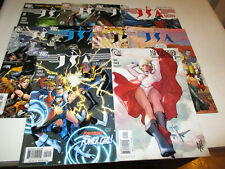 JSA Classified # 1-10--featuring Justice Society America--Geoff Johns--2005-VF+