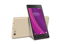 Lava A97 2GB PLUS (Black Gold) 4G VoLTE Android Nougat 7.0 with Selfie Flash