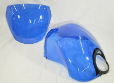 Genuine Buell Air Box Cover & Windscreen in Hero Blue, XB12X Models (Kit)