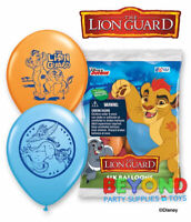 Disney The Lion Guard Printed Latex Balloons Party Decoration Supplies
