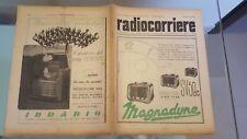 RADIOCORRIERE EIAR 1941 N 38 XIII MOSTRA DELLA RADIO, PUBBLICITA' IRRADIO, CGE