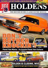 Just Holdens Magazine #38 SANDMAN & Panel Van Mania!