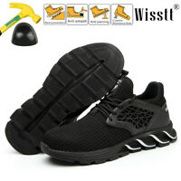 Men Steel Toe Work Boot Casual Blade Outdoor Sport Shoes Safety Sneakers Trainer