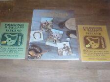 Soodlum´s Irish Ballad Book & 2x Folksongs & Ballads popular in Ireland / Ossian
