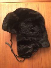 Beaver Fur Trapper Hat - Size Small / Medium