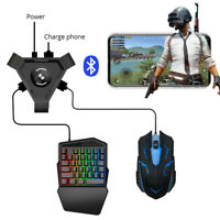 PUBG Phone Gamepad Controller Keyboard Mouse Converter Adapter for IOS/Andorid