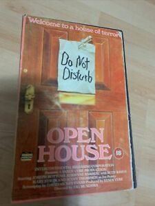 Super Rare Open House VHS Video Tape. Big Box Case. Ex Rental w/Card. Untested.