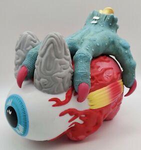 "7"" Mishka Mnwka Kid Robot Kozik Keep Watch LABBIT w/ Hand of Hell *Damaged*"
