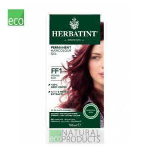 Herbatint Natural Hair Colour Henna Red FF1 150ml