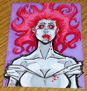 Bram Stoker's Dracula - Juan Puis Sketch Art Card - Cult Stuff (2012)