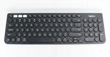Logitech K780 Wirless Keyboard Black & White Slim Design