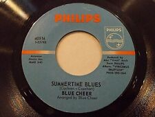 Blue Cheer Summertime Blues / Out Of Focus 45 1968 Philips Vinyl Record