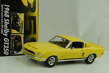 1968 ford shelby gt350 wt6066 BRILLIANT YELLOW/Release 2 1:18 ACME GMP