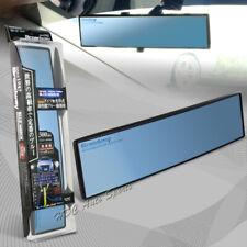 Broadway 300MM Wide Convex Interior Clip On Rear View Blue Mirror Universal 1