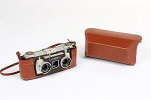 "Vintage ~ c1955 ~ ""Kodak Stereo"" Camera with Case                          #2015"