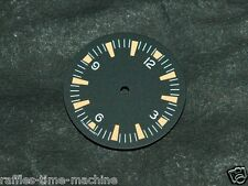 Plain Seamaster 300 Dial for ETA 2824 2836 Number@12 Orange Superluminova