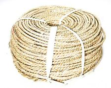 Natural Seagrass 3 lb. Twisted Coil Cord Rope 4.5m x 5mm >NEW<