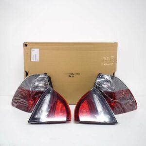 BMW 3 E91 Posteriore Tailights Nero Linea Retrofit Kit 63210411414 0411414 Nuovo