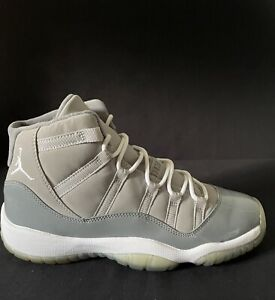 2010 Nike Air Jordan Retro Cool Grey 11 Size 6.5 GS VNDS w/OG Box 378038-001