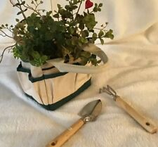 Small Garden Tote With Two Tools.