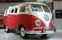 VW Diviso da Schermo T1 CAMPER FURGONE CAMPER FURGONCINO Maisto 1:24 Scala