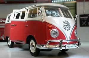 VW Séparé Écran T1 Camper Campervan Van Maisto 1:24/25 Scale Voiture Miniature