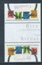Canada #1848i Vertical Gutter Pair with Tab MNH **Free Shipping**