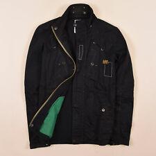 G-Star Herren Jacke Jacket Gr.M (wie S) Recolite Laundry Overshirt Schwarz 75589