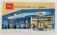 Postcard Monsanto Chemical Company Tomorrowland Disneyland California