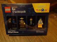 LEGO--COPS & ROBBERS MINI FIGURE COLLECTION SET (NEW) TOYS R US EXCLUSIVE