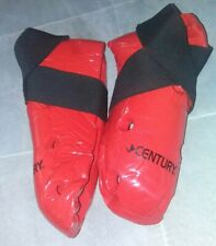 Century Martial Arts Student Sparring Hi-Top Boots Red Sz 3/4