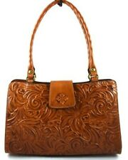 Patricia Nash Nwt Rienzo Satchel Leather Tooled Florence Msrp $229