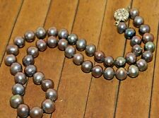 New, High Grade Genuine Pearl necklace  - Was $95 - Liquidation - A3776c